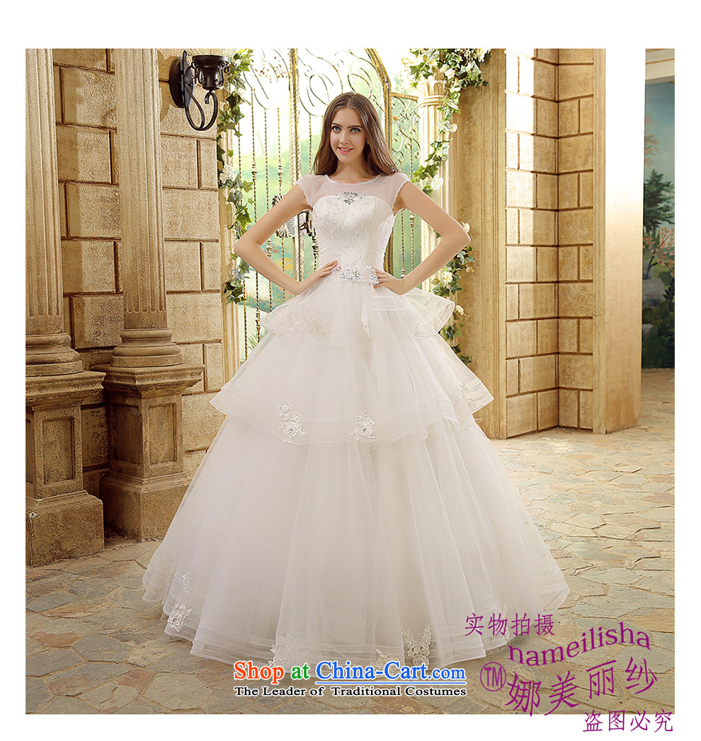 The beautiful new 2015 yarn a field to align the shoulder marriages wedding video thin Sau San tie sexy raincoats floor terrace photography bon bon skirt wedding pictures, price XL white, brand platters! The elections are supplied in the national character of distribution, so action, buy now enjoy more preferential! As soon as possible.