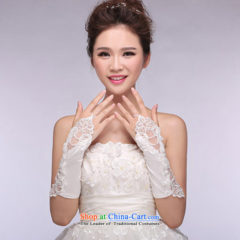 And speaking of marriages gloves Long? 2015 new wedding dresses accessories engraving gloves are cream code