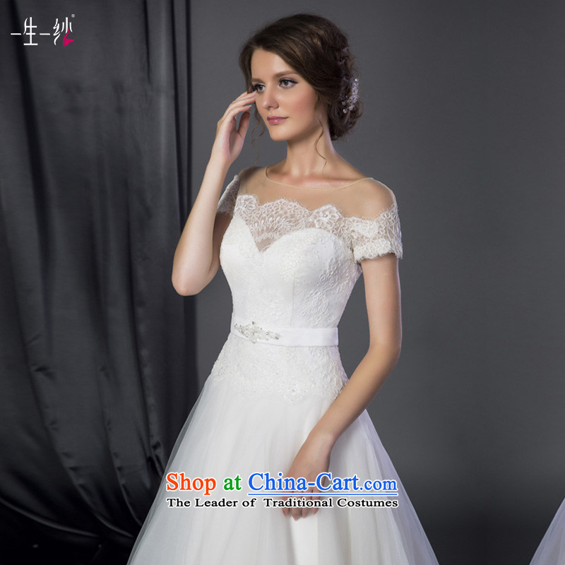 A Lifetime Love-template stars of willows with) cuff wedding video thin word autumn shoulder bon bon Korea version?401401282 wedding?white 5-?30 days of cuff 170/94A pre-sale
