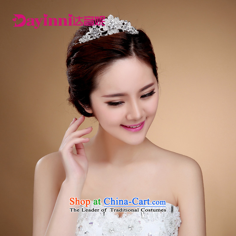2015 new bride Crown Head Ornaments was adorned with western water marriage drill for ornaments wedding jewelry accessories?J)