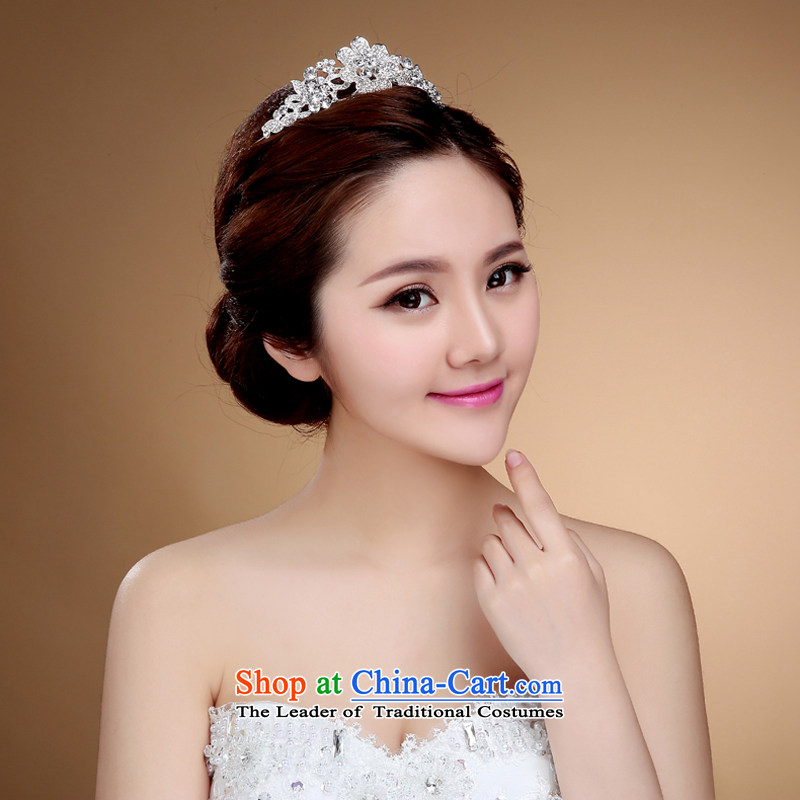 2015 new bride Crown Head Ornaments was adorned with western water marriage drill for ornaments wedding jewelry accessories J, to sound (dayinni ni) , , , shopping on the Internet