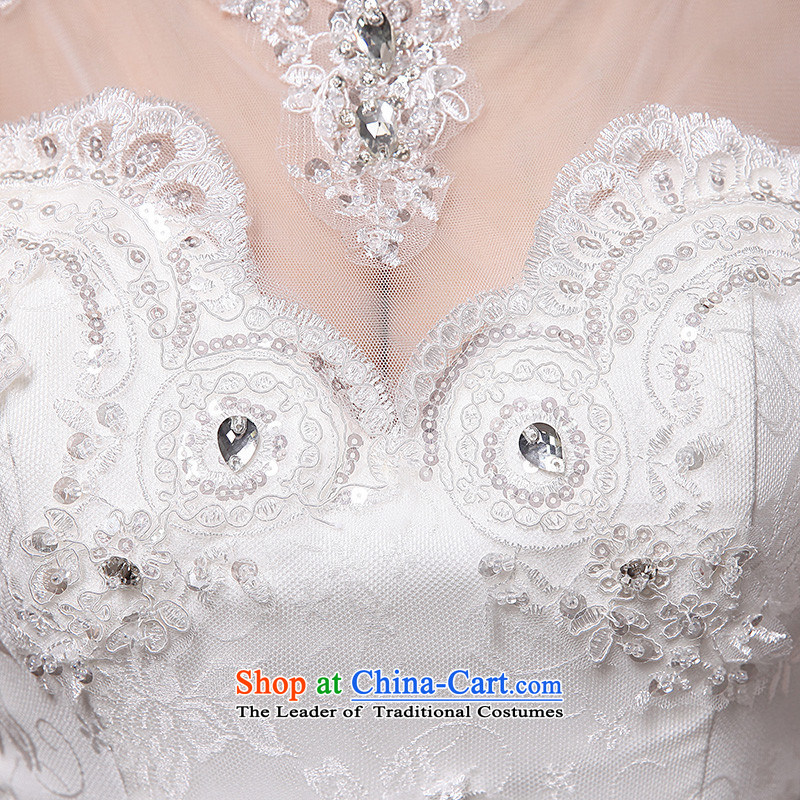 2015 Long one HUNNZ field shoulder elegant lace Foutune of white minimalist bride Sau San wedding white?S