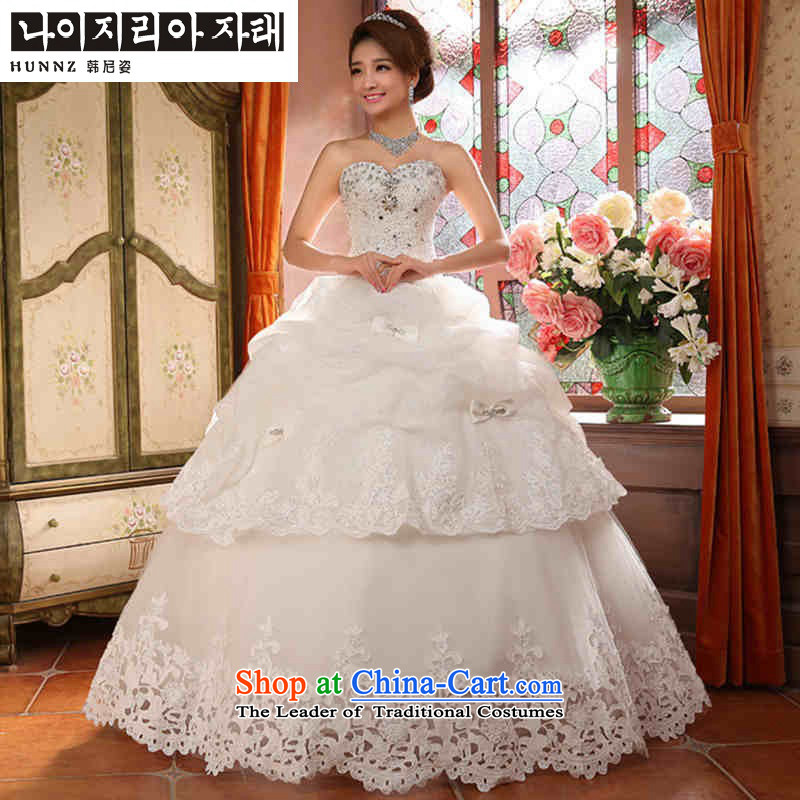 Hannizi 2015 stylish and simple large Sau San Tie Korean style with white wedding bride chest?S
