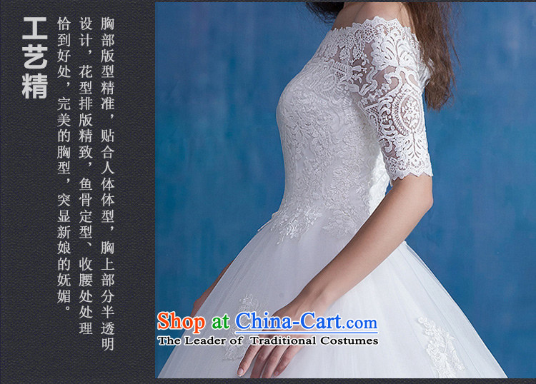 Ferrara wedding word shoulder graphics thin wedding Tail/align to wedding dress winter wedding dresses marriage to align the new bon bon skirt M(2 feet) Picture, prices, brand platters! The elections are supplied in the national character of distribution, so action, buy now enjoy more preferential! As soon as possible.