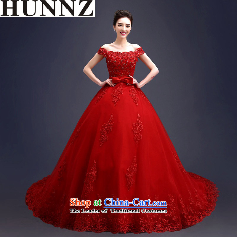 Wipe the chest of a 2015 HUNNZ field shoulder straps Korean tail alignment of the funds from the wedding dress party, align the princess to�XXL