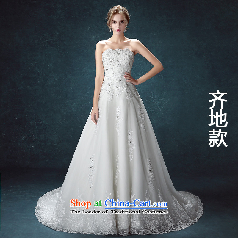 ?     ?The new trendy HANNIZI CODE 201 anointed chest long strap stylish lace bride wedding Align to align the tail to?XL