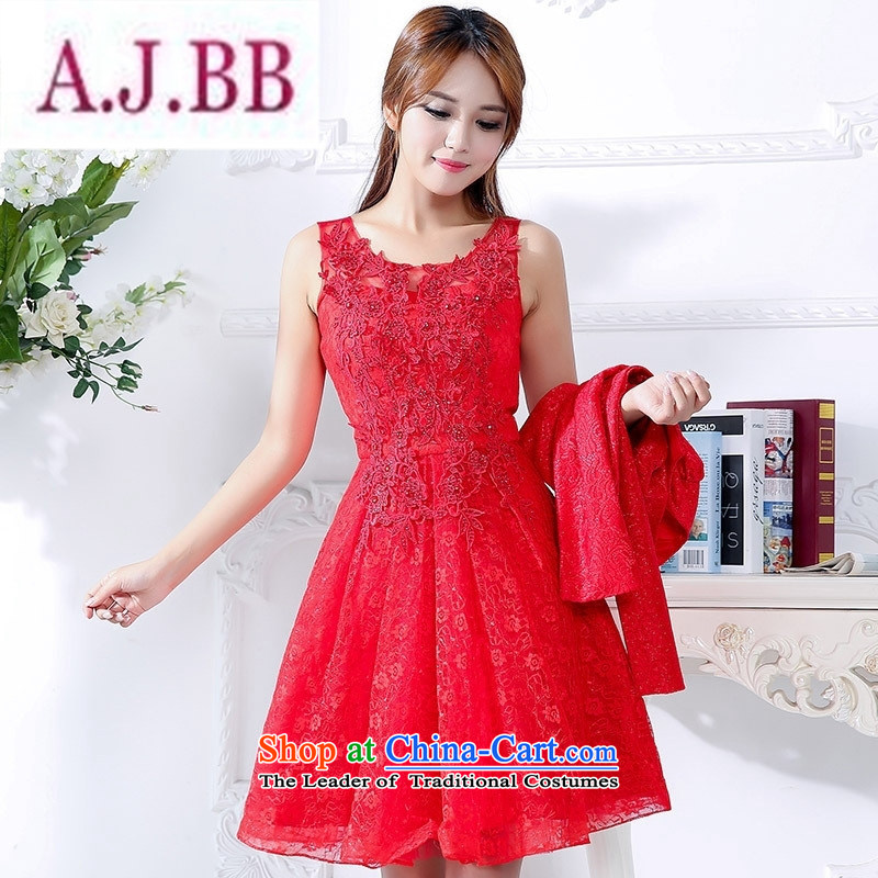 Ms Rebecca Pun stylish shops bride bows services 2015 Fall_Winter Collections New Red wedding dress larger betrothal back door Sau San serving two kits red聽XL