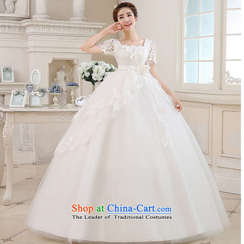On the risk pregnant women wedding dresses 2015 new autumn and winter shoulders lace marriages to align the large red Top Loin video thin white a made-to-size is not a replacement for a