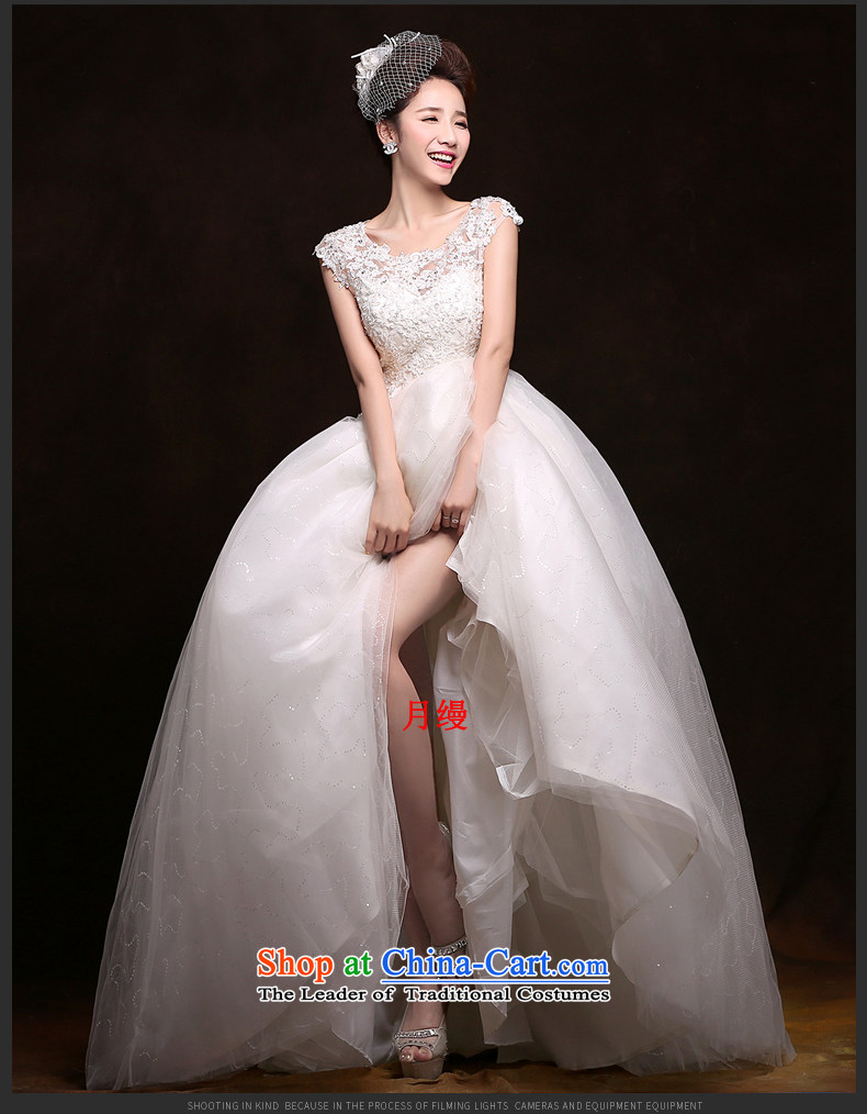 As wedding dresses, 2015 New Korean fashion shoulders lace straps to align graphics Sau San thin wedding White M pictures, prices, brand platters! The elections are supplied in the national character of distribution, so action, buy now enjoy more preferential! As soon as possible.
