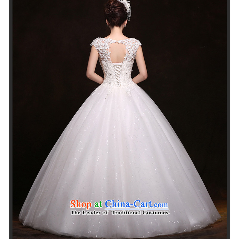 As wedding dresses, 2015 New Korean fashion shoulders lace straps to align graphics Sau San thin white wedding on risk M , , , shopping on the Internet