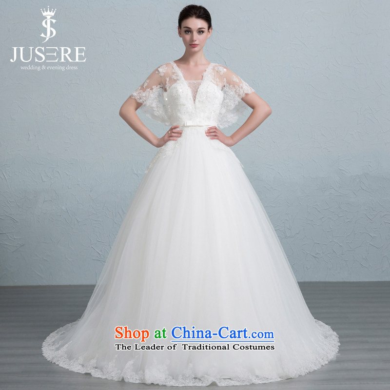 There is set to Lai new wedding dresses Sau San lace V-Neck small trailing white?2 code
