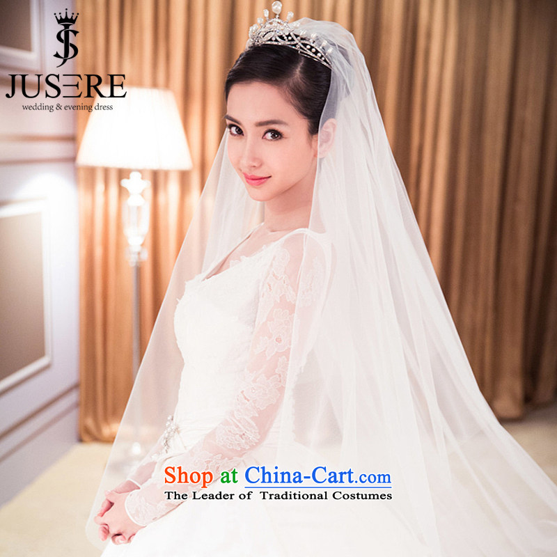 ?Baby With ab wedding wedding Huang Xiao Ying Yang Ming-the same love back long tail palace of nostalgia for the wedding _tailored_ white wedding 3m tail