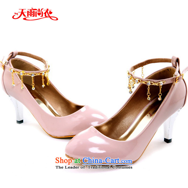 Rain-sang Yi New marriages shoes bridesmaid Shoes Show shoes Dance Shoe multi-color options the the high-heel shoes XZ067 red 37 pictures, prices, brand platters! The elections are supplied in the national character of distribution, so action, buy now enjoy more preferential! As soon as possible.