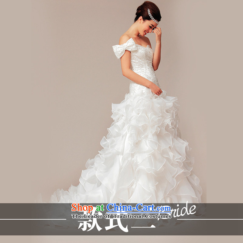 The wedding dresses HIV NEW 2015 autumn and winter spot clearance _300-400 million wedding- Zhuan Style 3?L