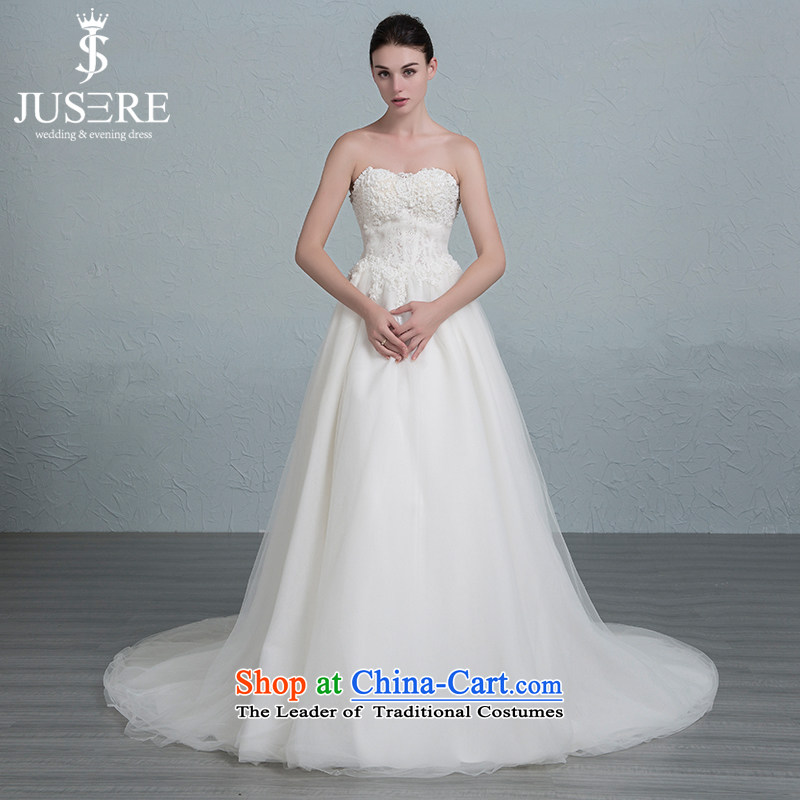 Set-ho is diffuse wedding dresses Korean anointed chest straps Sau San lace small trailing white 2 code