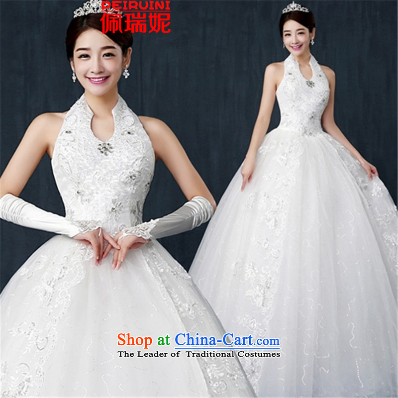 Pei, Connie�2015 Korea also mounted wedding band wedding dresses winter White�M