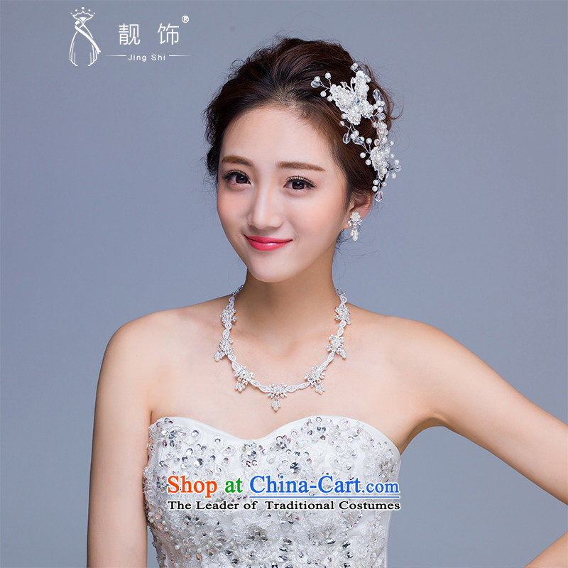The new 2015 International Friendship marriage jewelry and ornaments butterfly necklace earrings package manually bride jewelry crown earrings necklace kit