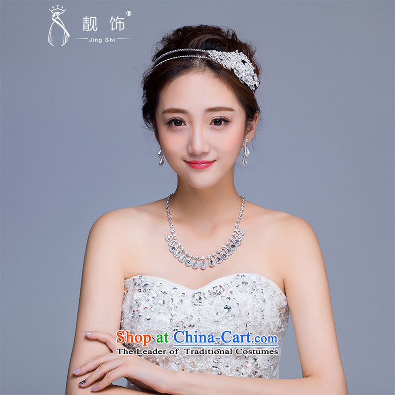 The new 2015 International Friendship marriage jewelry and ornaments necklace earrings kit bride crown jewelry wedding accessories and ornaments