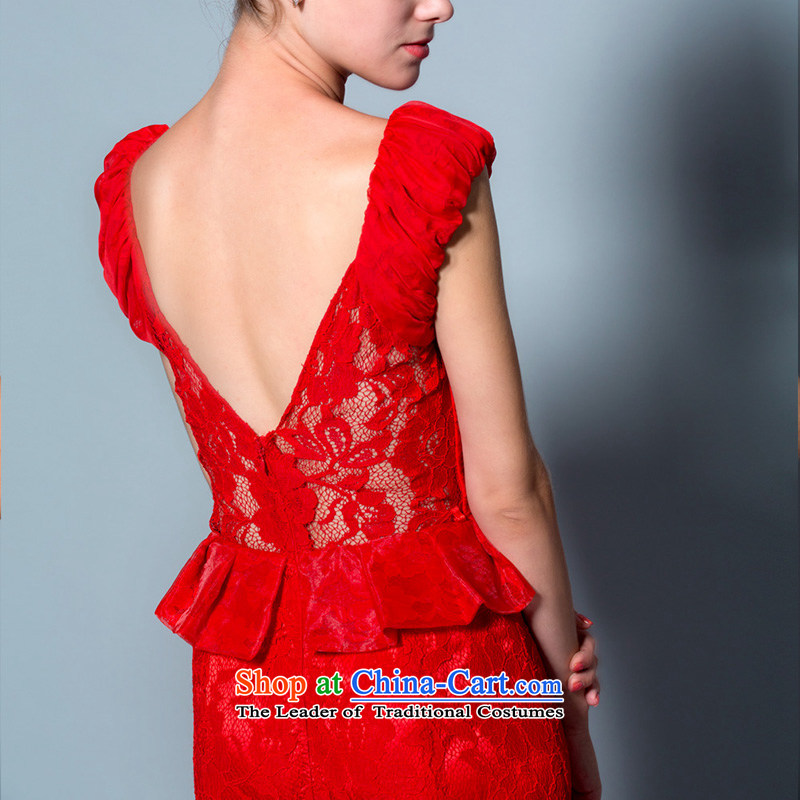 The Rhyme of Flower (Mugunghwa as soon as possible a lifetime of 2014 New lace a field for package shoulder crowsfoot bride bows dress 30240803 red聽180/100A thirtieth day pre-sale, a Lifetime yarn , , , shopping on the Internet