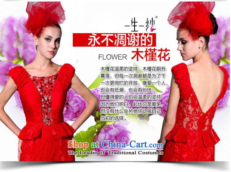 The Rhyme of Flower (Mugunghwa as soon as possible a lifetime of 2014 New lace a field for package shoulder crowsfoot bride bows dress 30240803 red聽180/100A thirtieth day pre-sale picture, prices, brand platters! The elections are supplied in the national character of distribution, so action, buy now enjoy more preferential! As soon as possible.