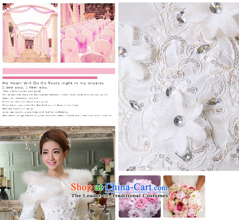 2015 new marriages of autumn and winter stylish Korean word to align the shoulder of long-sleeved wedding dresses thick winter clothing made of white XXXL does not allow for pictures, prices, brand platters! The elections are supplied in the national character of distribution, so action, buy now enjoy more preferential! As soon as possible.
