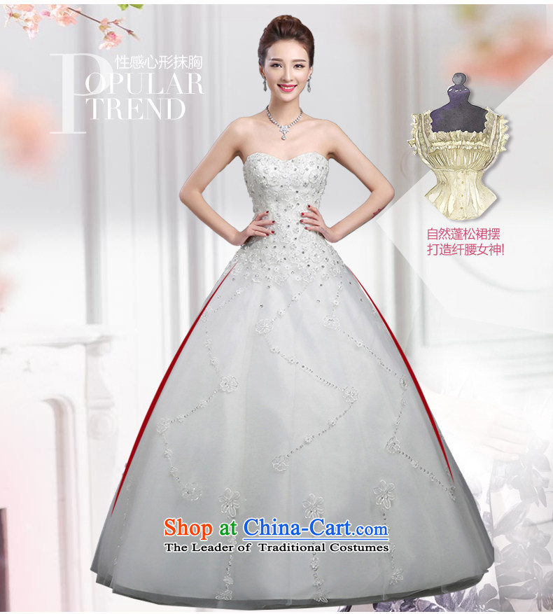 Wedding dresses 2015 Summer new marriages stylish anointed chest lace to align the minimalist Korean autumn and winter bon bon skirt WhiteXL Photo, prices, brand platters! The elections are supplied in the national character of distribution, so action, buy now enjoy more preferential! As soon as possible.