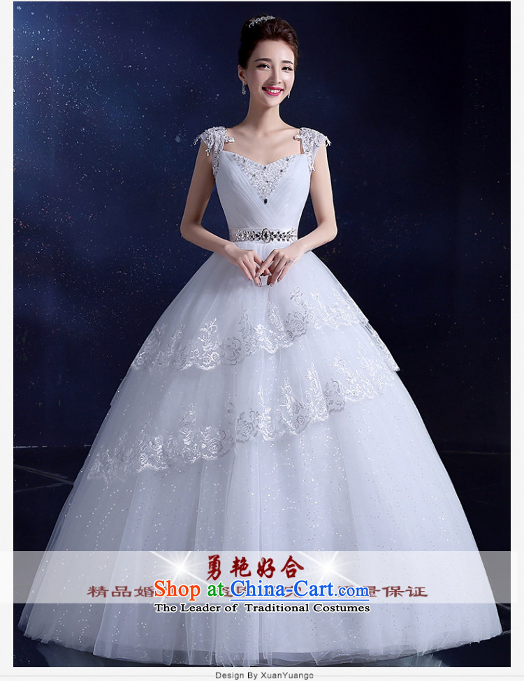 Yong-yeon and shoulders wedding dresses Korean align to bind with evening dresses 2015 autumn and winter new wedding video thin white quarter code XXL picture, prices, brand platters! The elections are supplied in the national character of distribution, so action, buy now enjoy more preferential! As soon as possible.