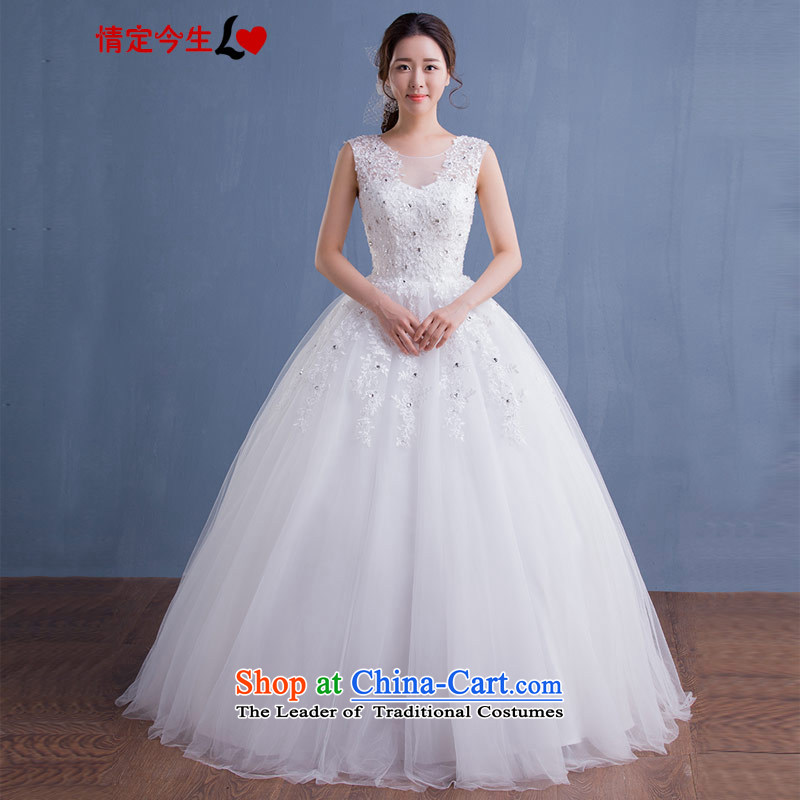 Love of the life of the new version of the Word 2015 won shoulder V-Neck Strap Diamond Video thin lace align to tailored bride wedding white tailor-made exclusively concept