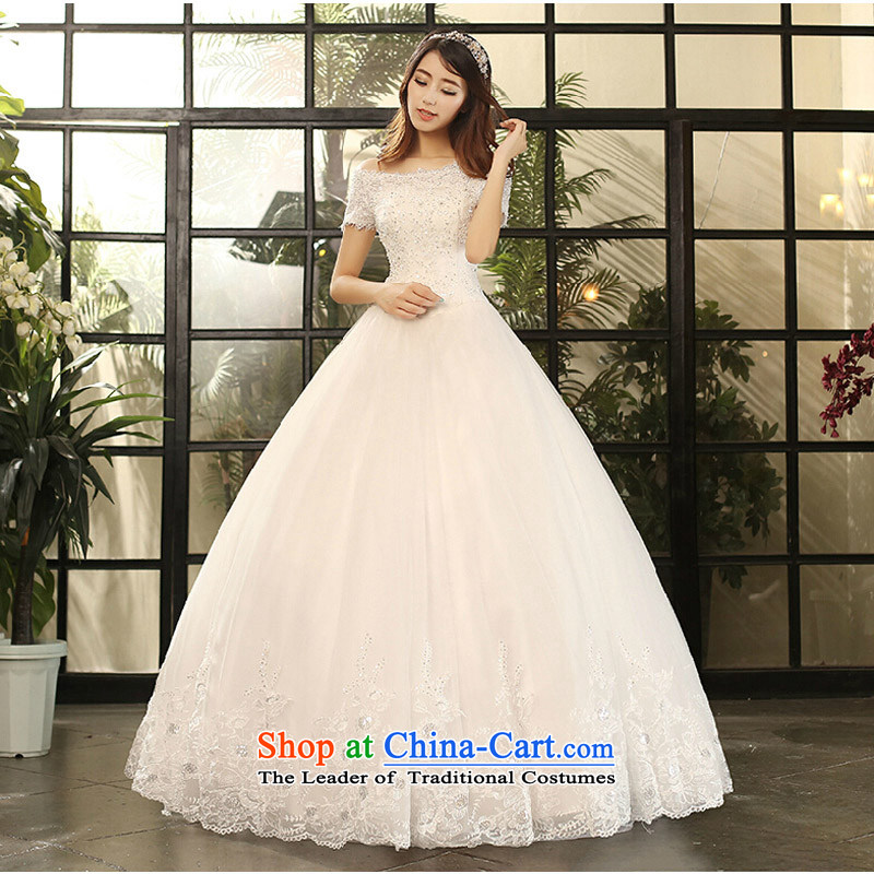 Pure Love bamboo yarn wedding dresses 2015 new winter wedding a field to align the shoulder wedding wedding anointed chest Sau San wedding female custom tailored white does not allow for pictures, prices, brand platters! The elections are supplied in the national character of distribution, so action, buy now enjoy more preferential! As soon as possible.
