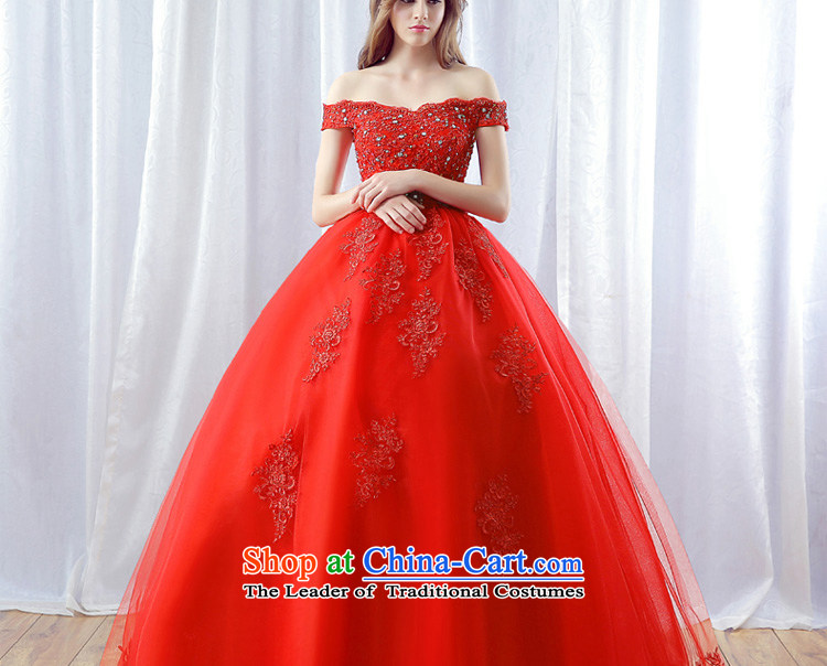 Every word JIAONI) stephanie (your shoulders to wedding dresses 2015 autumn and winter new red marriages water drilling lace skirt red tailored does not allow for seven days, picture, prices, brand platters! The elections are supplied in the national character of distribution, so action, buy now enjoy more preferential! As soon as possible.