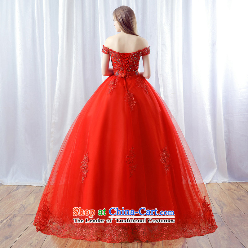 Every word JIAONI) stephanie (your shoulders to wedding dresses 2015 autumn and winter new red marriages water drilling lace skirt red tailored does not allow for seven days, every JIAONI stephanie () , , , shopping on the Internet
