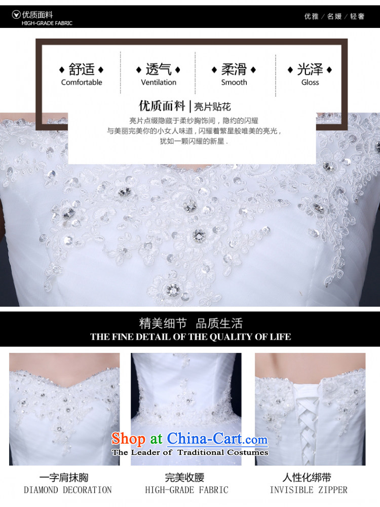 Yong-yeon and wedding dresses new stylish Korea version of 2015 Field shoulder bags shoulder straps to align the bride winter wedding video thin white聽XL Photo, prices, brand platters! The elections are supplied in the national character of distribution, so action, buy now enjoy more preferential! As soon as possible.