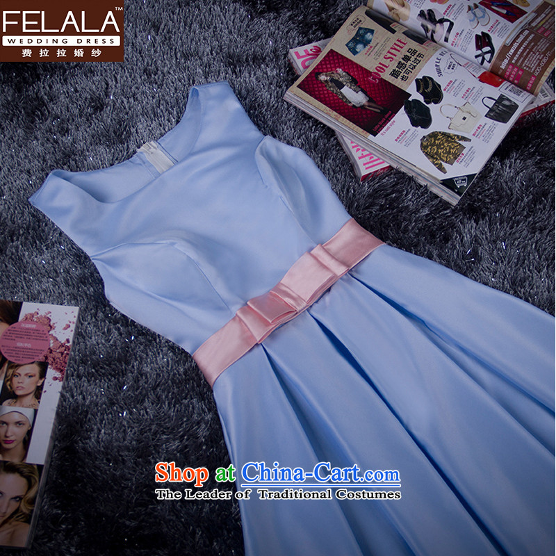 Ferrara?2015 new bridesmaid dress in Long An elegant dinner dress and sisters under the auspices of the polluted dresses?XL