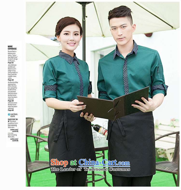 The Secretary for Health related shops * Fall/Winter Collections long-sleeved men dining hotel cafe workwear attire with dark green shirt + Female (aprons) Picture, prices, XXXL brand platters! The elections are supplied in the national character of distribution, so action, buy now enjoy more preferential! As soon as possible.