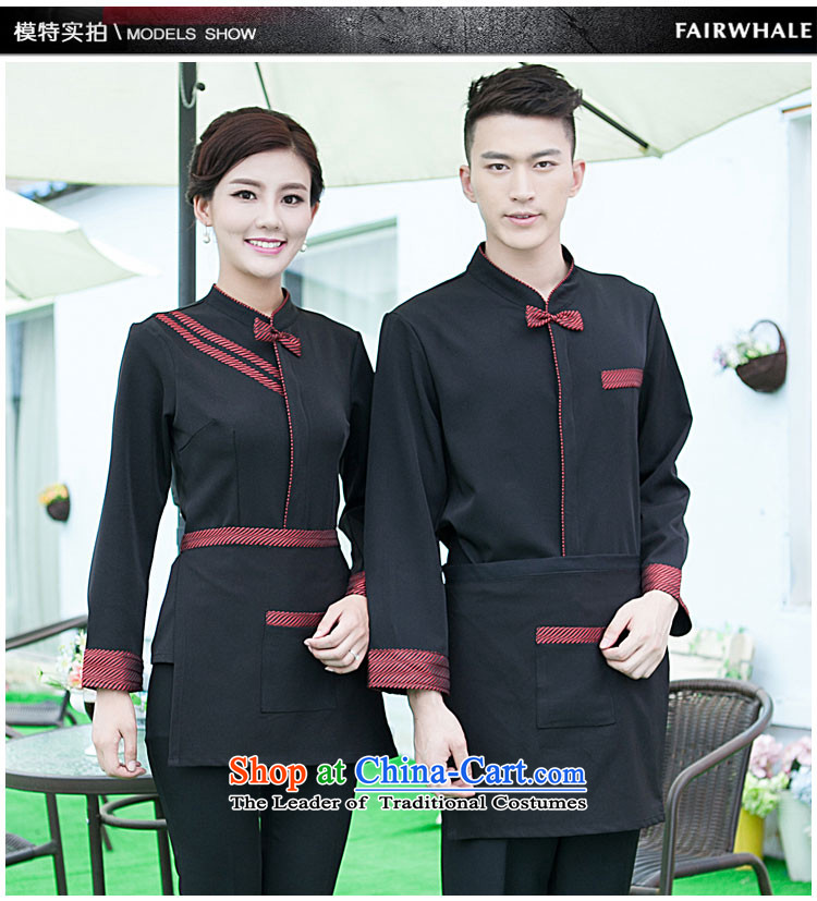 The Secretary for Health related shops * hotel cafe autumn and winter clothing with long-sleeved men hotel restaurant with Hot Pot Restaurant in Ladies black T-shirt (red + apron) M picture, prices, brand platters! The elections are supplied in the national character of distribution, so action, buy now enjoy more preferential! As soon as possible.