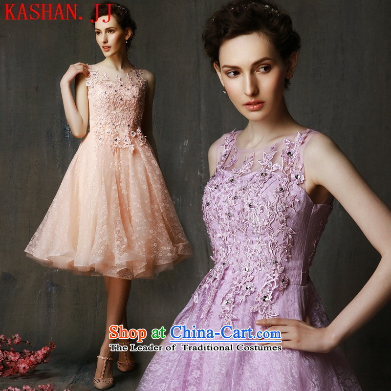 Mano-hwan's 2015 new summer bridesmaid service, bows to bride photo building theme costumes evening dresses female purple, pink 2,325 are code