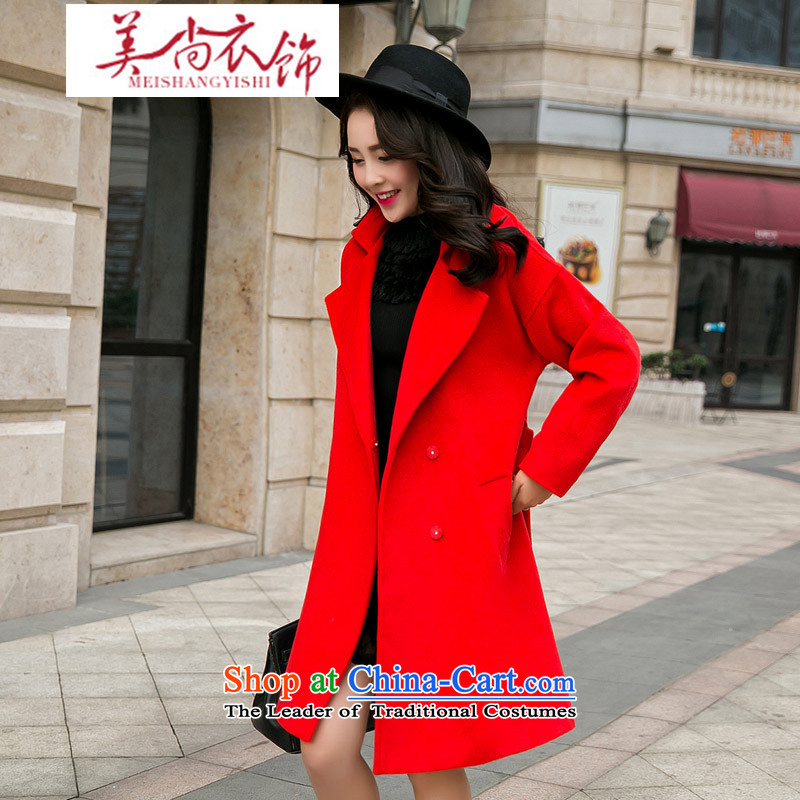 The United States is still�2015 autumn and winter clothing bride bows wedding dress back to door service binding marriage bridesmaid services under the auspices of red jacket coat gross?�M