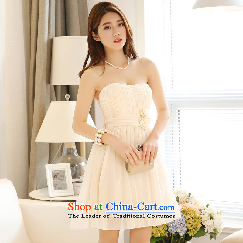 158 United States, Japan, and the ROK, and his chest shoulder gauze chiffon princess skirt high waist bridesmaid sister skirt show small dress聽199 deep champagne color code聽 F聽for 78-115 per capita burden, 158 and shopping on the Internet has been pressed.