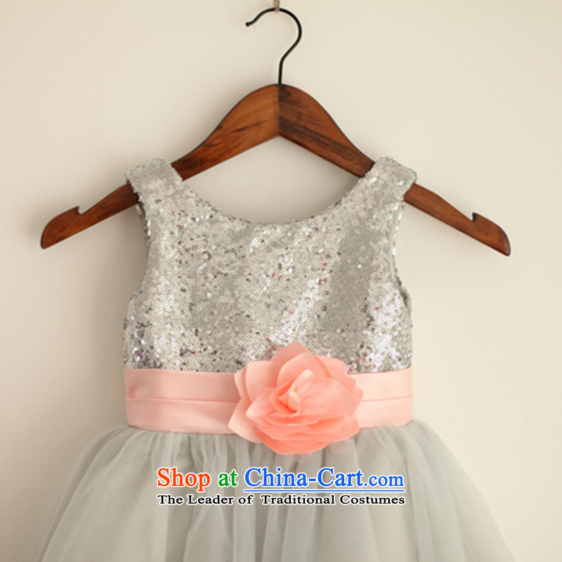 Mr. Guiss��?2015 new smart stylish light material unilateral colors spent waistband knocked Flower Girls dress rose?12 Months