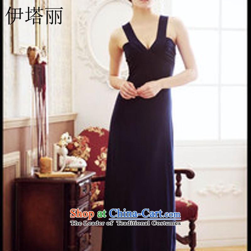 Hitta Lai Korean female new V-Neck back dress code 611 red are
