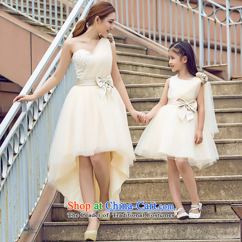 Tim hates makeup and children dress skirt girls princess skirt girls princess skirt Flower Girls dress dresses to live piano music service pack parent-child HT5051 evening dresses Monseigneur L