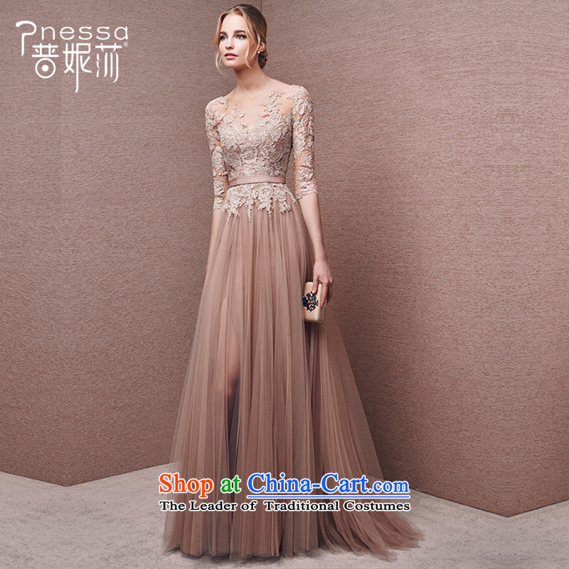 The Republika Srpska divas winter) Bride bows services 2015 new Korean long evening dress long-sleeved set banquet wedding-dress female Sau San usual zongzi color tailored please contact us