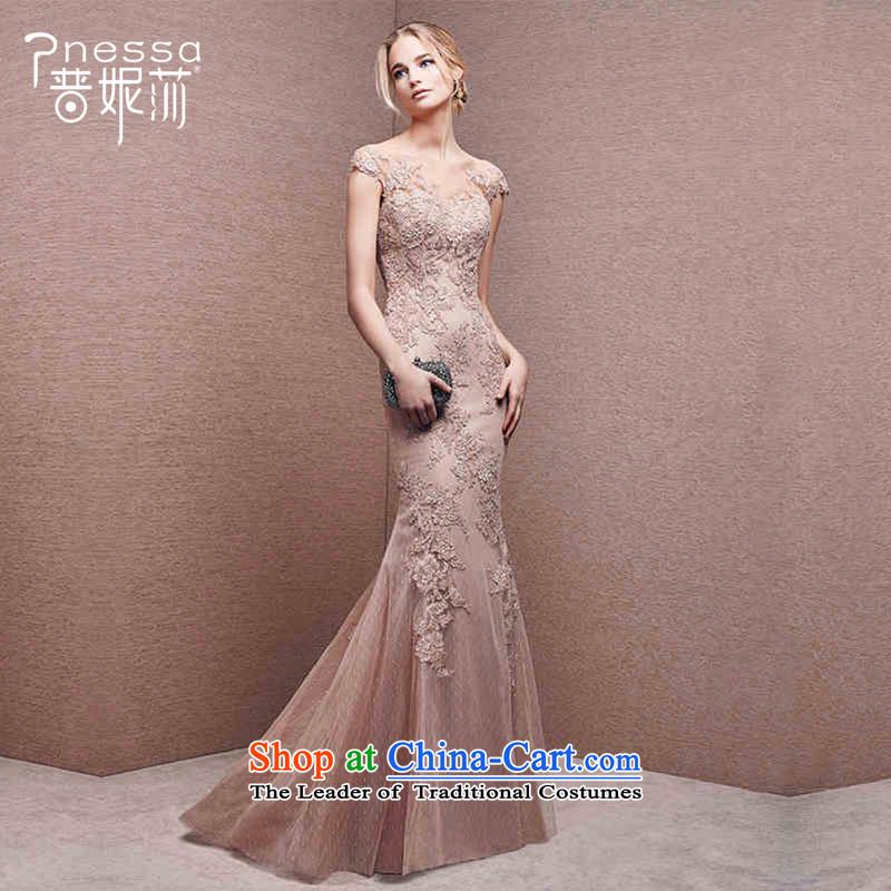 The Republika Srpska divas evening dresses 2015 Winter Korean-style new bride long stylish wedding dress shoulders moderator dress the usual zongzi female color�XXL