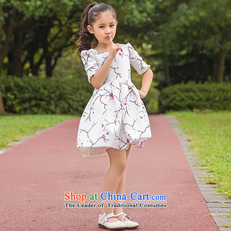 Tim hates makeup and children taking pictures of the girl child and of children's wear skirts flower children princess dancing skirt children bon bon skirt piano performances of children skirt parent-child replacing evening dresses HT5083 children 110CM,