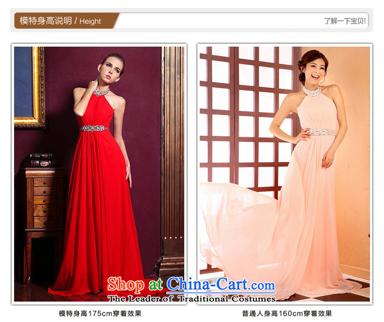 A Bride dress marriage new bows Services 2015 Long bridesmaid dress pink dress 219 pink L picture, prices, brand platters! The elections are supplied in the national character of distribution, so action, buy now enjoy more preferential! As soon as possible.