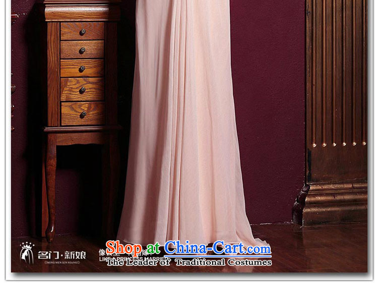 A Bride wedding dresses聽2015 new red married long gown bows evening dresses 289 pink聽pictures, prices, S brand platters! The elections are supplied in the national character of distribution, so action, buy now enjoy more preferential! As soon as possible.