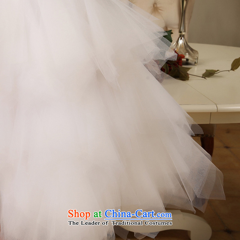 Embroidered is by no means a bride wedding dresses new bride wedding dress and diamond short of chest bridesmaid small white dress with M suzhou embroidery brides, shipment has been pressed shopping on the Internet