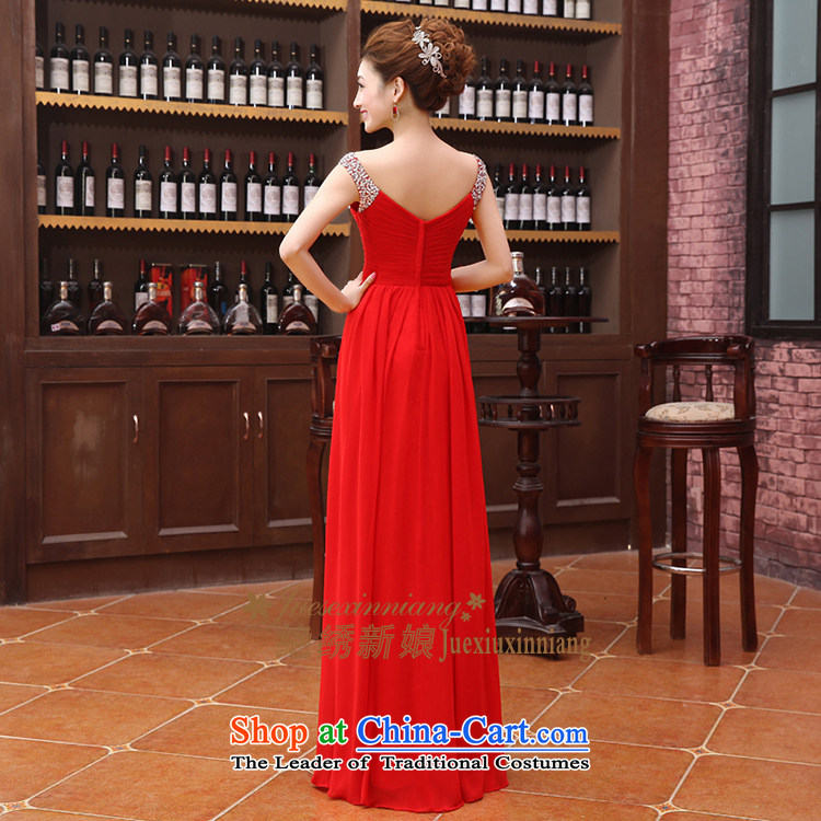 Embroidered brides is 2015 autumn and winter new bride bridesmaid marriage services evening dress small bows dress bridal dresses long red L Suzhou shipment picture, prices, brand platters! The elections are supplied in the national character of distribution, so action, buy now enjoy more preferential! As soon as possible.