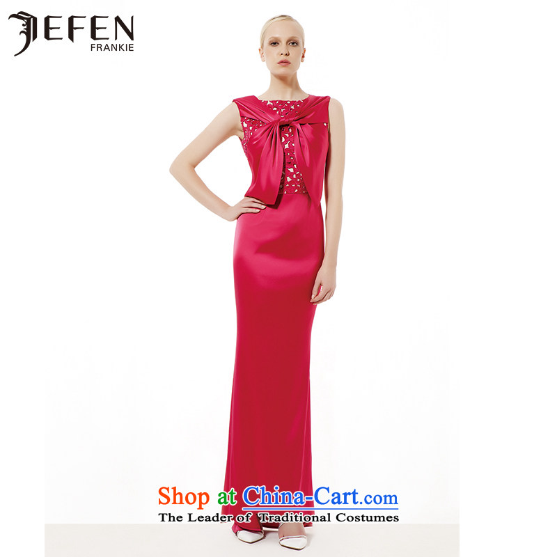 Jefen Giffen advanced new custom elegant long gown skirt AS731303 pink Single-processor _1P_ M have code