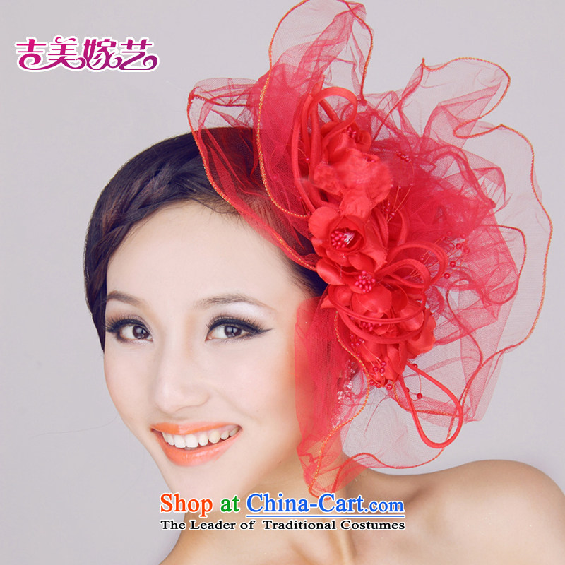 Kyrgyz-US married arts _ bride new full-flower beads and spent 2015 NEW?TH0095 Floral Hairpiece White